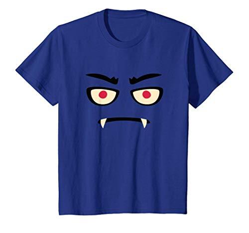 Niños Divertido Disfraz Halloween Dulce Vampiro Monstruo Camiseta