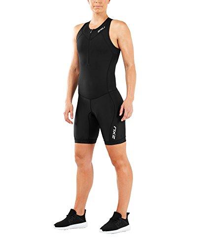2XU Damen Active Trisuit, schwarz/schwarz, L
