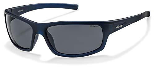Polaroid - P8411 - Sonnenbrille Herren Rechteckig - Leichtes Material - Polarisiert - Schutzkasten inklusiv