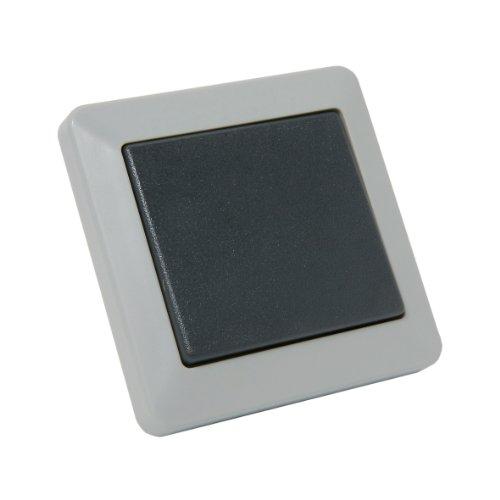 Debflex 735110 Opaline Va et Vient IP44 Gris