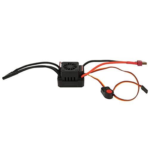 Changor RC Electrónico Velocidad Controlador, El plastico 35x35x10mm 5~74V Sin escobillas Motor por 1:8/1:10 RC Coche