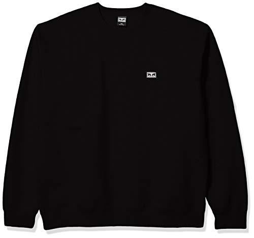 Obey Herren All Eyez II Crew Pullover, schwarz, XX-Large