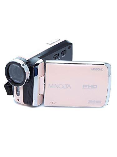 Minolta MN50HD 1080p HD Video Camera Camcorder (Rose Gold) Includes 8GB Card