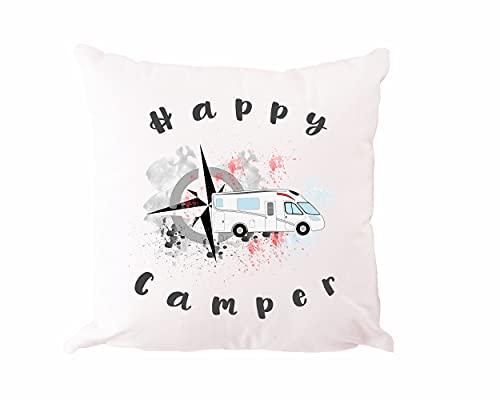 """Kissen """"Happy Camper"""