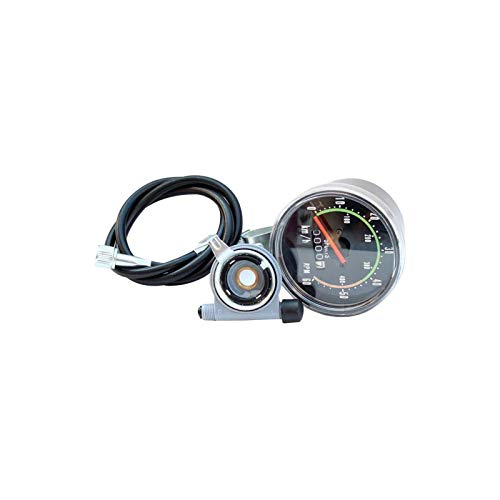 Mechanical Speedometer for Bicycle,Anti-Shock Classical Road Bike Cycling Odometer,Outdoor Waterproof Cycling Odometer,for All Type of Bicycles