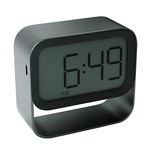 Reloj Despertador Digital, Reloj De Cabecera, Despertador De Dormitorio con Sonido Y Luz para Despertar, Ajuste De Alarma Dual, Función De Repetición, Luz Nocturna,Niños,Niñas,Ancianos