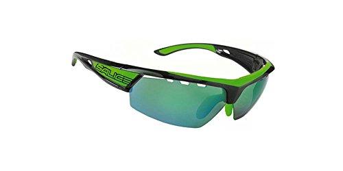 Salice 005CRXB Fahrrad Brille, Farbe Einheitsgröße schwarz/gelb