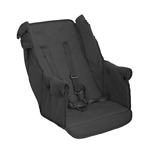 Joovy Caboose Doppelter Kinderwagen Rücksitz, Zubehör, faltbar mit dem Kinderwagen, muss nicht entfernt werden, schwarz