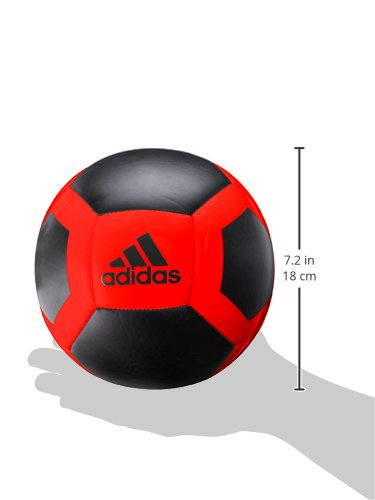 adidas Performance MLS Top Glider Soccer Ball, White/Red/Blue, Size 5