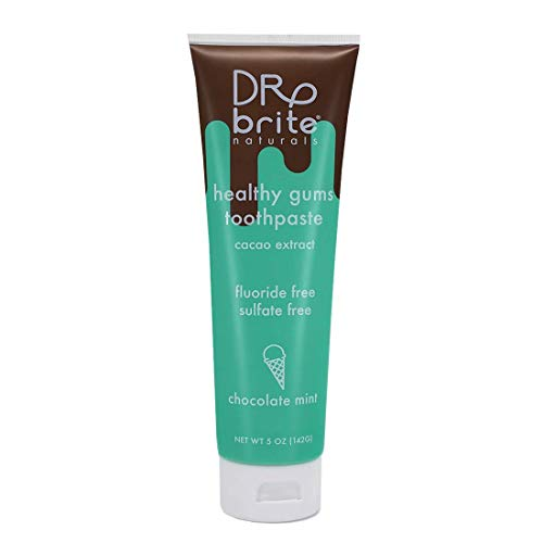 Dr. Brite Antioxidant-Rich Natural Healthy Gums Toothpaste (5 Oz) Chocolate Mint