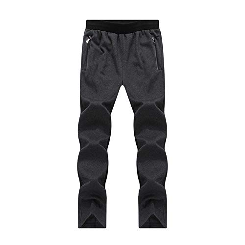 N\P Pantalones de chándal Hombre Negro Verde del Ejército Azul Cálido Deportivo Jogger
