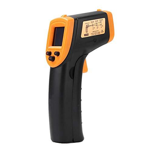 Digitales Laser-Infrarot-Thermometer -50 bis + 600 ° C, IR-Pyrometer näherhrwerfendes Temperaturmessgerät Temperaturmesser (Nicht für Menschen)