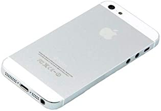 E&B Back Housing Replacement Compatible with iPhone 5 (Silver)
