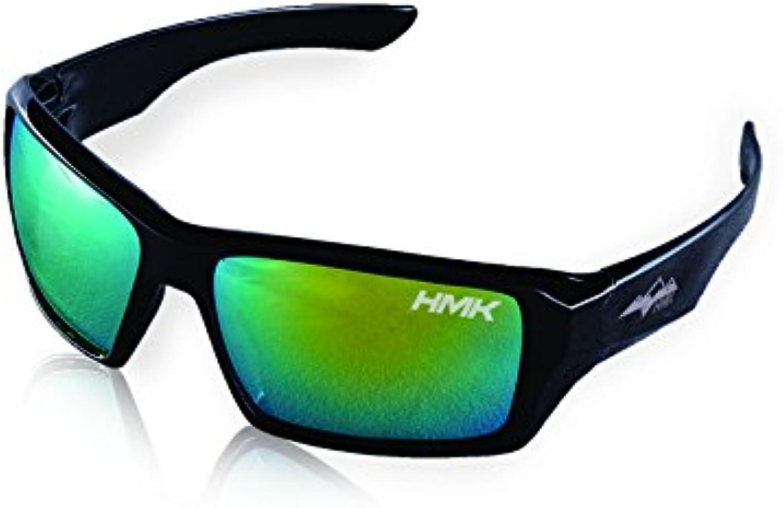HMK The Jim Sunglasses (Black, One Size)