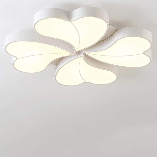 HviLit Moderne LED Plafonnier Creative Love Hearts Décoration Acrylique Plafonnier Pendant Lampes Luminaire Enfants Chambre Lumière Illumination Intérieur Éclairage De Plafond for Salon Éclairage Cham