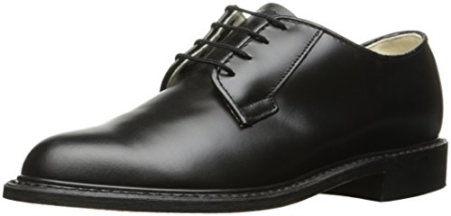 Bates Women's Navy Premier Oxford Uniform Dress Shoe, Black, 6 M US