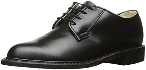Bates Women's Navy Premier Oxford Uniform Dress Shoe, Black, 5.5 M US