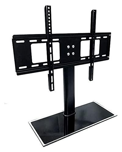 TabloKanvas Soporte de televisión Base de Vidrio Máx MAX Tapa TV TV Altura de Altura Ajustable para 20-55 LCD Pantallas curvadas Planas (Size : B)