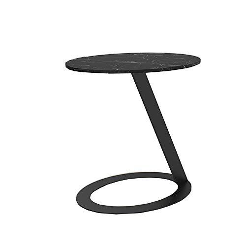 YUMEIGE-TISCHE C-Typ Marmortisch, Sofa Laptop for Kaffee Sofa Wohnzimmer Schlafzimmer Laptoptisch Betttisch (Color : D, Size : 17.71 * 23.62 * 22.04in)