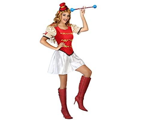 ATOSA disfraz majorette mujer adulto rojo XL