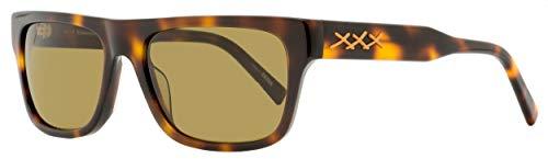 Sunglasses Ermenegildo Zegna EZ 0132 Xxx 2 52J Shiny Dark Havana, Vicuna Triple