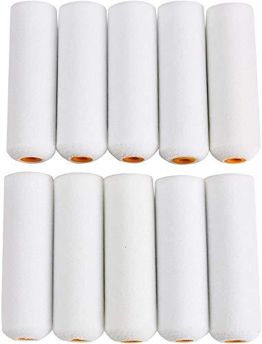 EVERBUY - Pack de 10 mini rodilleras para decoración y pintura de Harris de 4 pulgadas