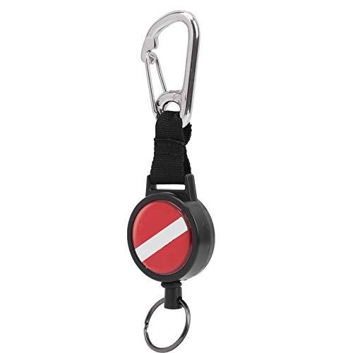 Lantro JS Anti-Lost-Seil, Stretch-Seil, tragbares BCD-Zubehör mit Gummiring zum Tauchen Schwimmen