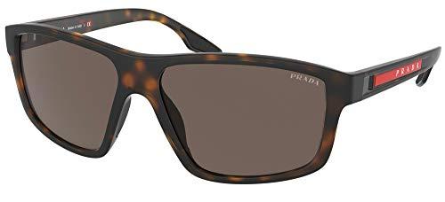 Prada Gafas de Sol Linea Rossa LINEA ROSSA SPS 02X Matte Havana/Brown 60/15/145 hombre