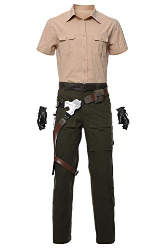 RedJade Jumanji: The Next Level Smolder Bravestone Uniforme Traje de Cosplay Disfraz Hombres XL