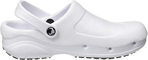 Suecos® Thor, Damen Clogs & Pantoletten, Weiß (White), Größe: 40 EU