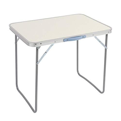 YIERMA Mesa de picnic plegable, mesa de camping, mesa plegable al aire libre, mesa de comedor
