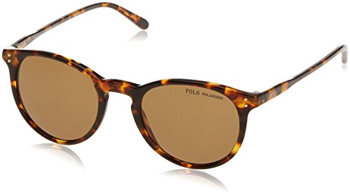 Polo Ralph Lauren 0PH41103483 Montures de Lunettes, Marron (Shiny Antique Havana/Polarbrown), 50 Homme
