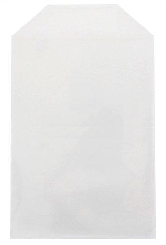 CheckOutStore 50 Clear Storage Pockets (5 5/8 x 8 1/2) |