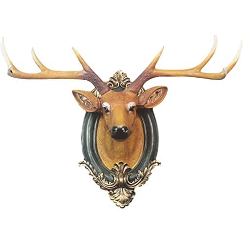 Montaje en pared Cuello de la Pared de la decoración de los Ciervos. Cabeza de Animal
