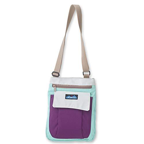 KAVU For Keeps Bag With Hip Crossbody Adjustable Purse Strap - Spring Glacier