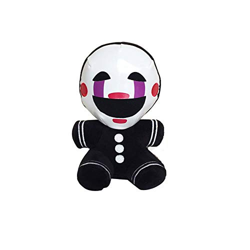 18cm Five Nights at Freddy's 4 FNAF Nightmare Marionette Stuffed Plush Toys Soft Toy Doll for Kids Children Gifts Black
