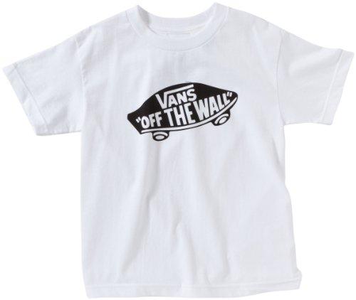 Vans OTW Childrens - Camiseta para niño, Blanco (White/black), Small ( Small)
