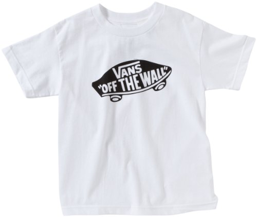 Vans OTW Childrens - Camiseta para niño, Blanco (White/black), Small ( Small)