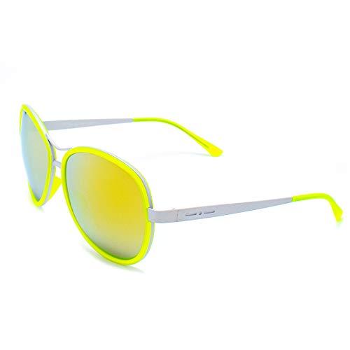 italia independent 0073-033-000 Gafas de sol, Amarillo, 61 para Mujer