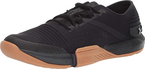 Under Armour Men's Speedform Feel Cross Trainer Sneaker, Black (001)/Black, 12