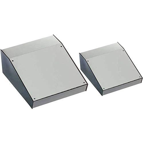 Axxatronic BIM6005-GY/PG Pult-Gehäuse 143 x 105 x 55 ABS Lichtgrau 1 St.