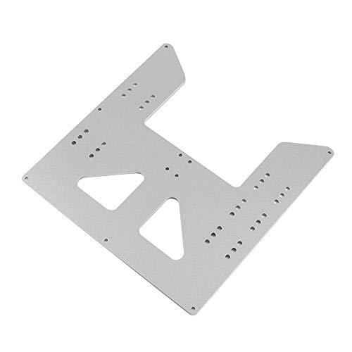 Entweg Accesorios De Impresora 3D,Accesorios de impresora 3D Placa base de cama caliente Placa de aluminio anodizado para PRUSA I3 para proveedores de actualización de impresora 3D Anet A8