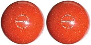 EPCO Duckpin Bowling Ball- Speckled Houseball - OrangeBalls - 2 Balls
