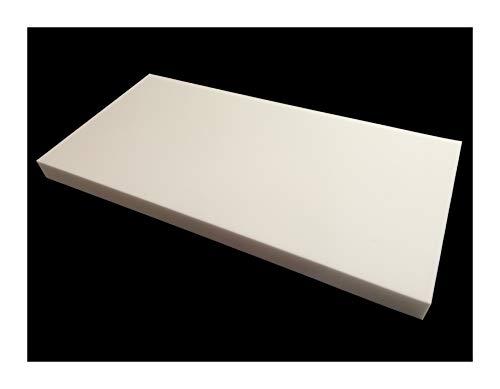 Geavanceerde akoestiek 75 mm Mel-akoestische plaat wit melamine akoestisch schuim paneel 600 x 1200