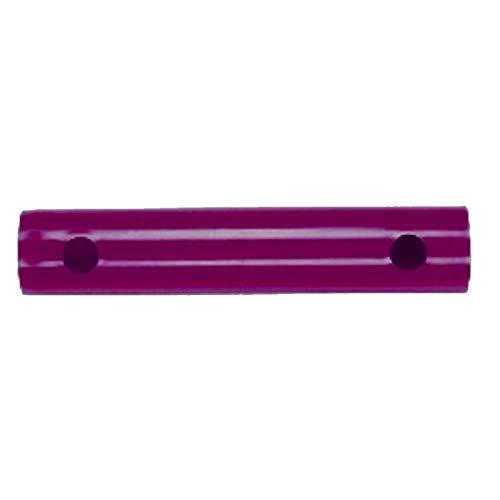 Moveandstic Rohr 25 cm Auswahl zur Erweiterung von Klettergerüst und Spielturm (Magenta /brombeer)