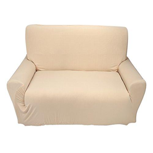 Borlai Funda Protectora de Sofá Antideslizante para Sofá Protector de Muebles de Color Sólido para Sala de Estar en Casa