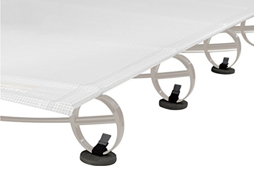 Therm-a-Rest Cot Coaster, 6-Pack, Black