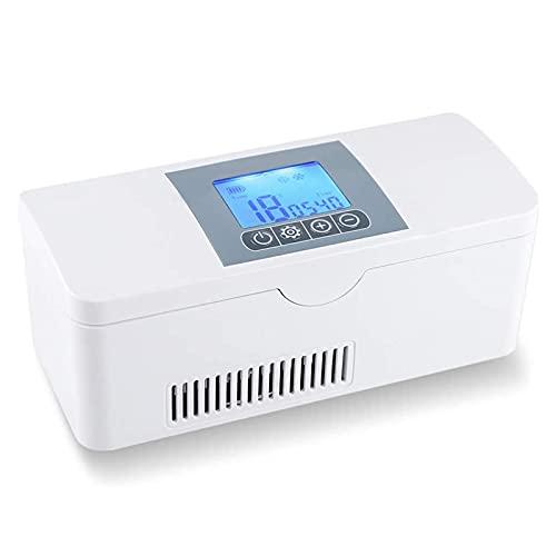 Refrigerador De Insulina, Refrigerador Portátil Para Medicamentos Gran Capacidad Pantalla Led Se Aplica Para Viajes Hogar Congelador De Insulina