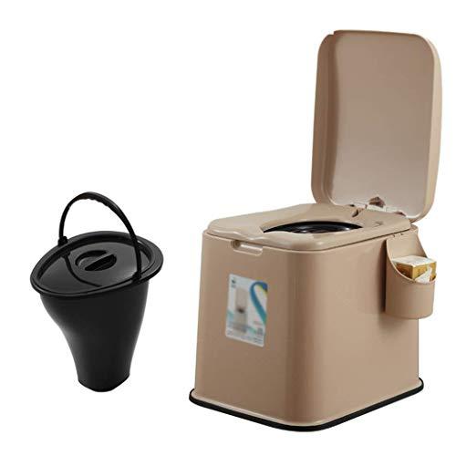 Pratico Comodo WC da Campeggio WC Portatile TY, WC Portatile, Comodo Sedile del Water per Campeggio, Spiaggia, Escursionismo (Colore: B, Taglia: 2) Facile da Usare
