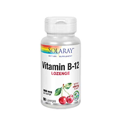 Solaray Vitamin B-12 - 90 tabls. sublinguales